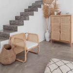 Béton ciré sols et escaliers sur carrelage - kit 2m2 à 10m2